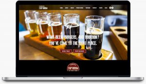 Tamarrack Taproom website design by Dreambig Creative - Minneapolis, MN