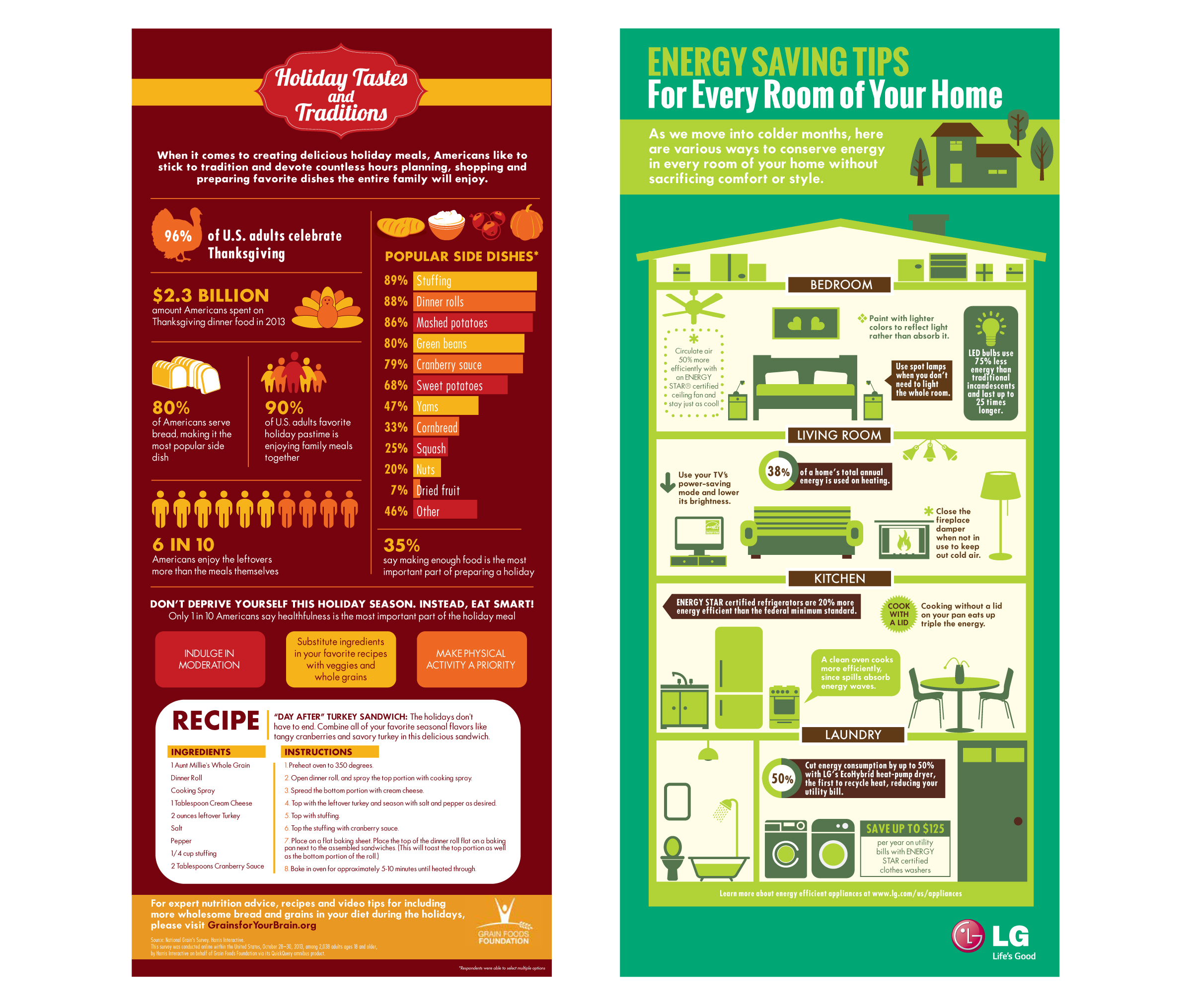 Life's Good LG Infographic by DreamBig Creative Minneapolis, MN