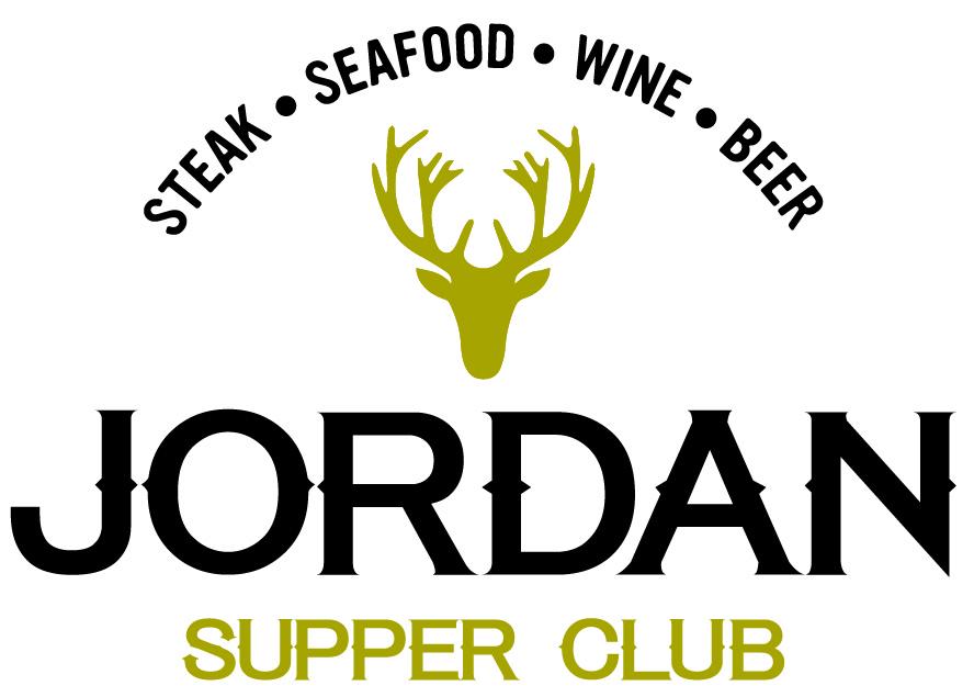 Jordan Supper Club Logo by DreamBig Creative Minneapolis, MN