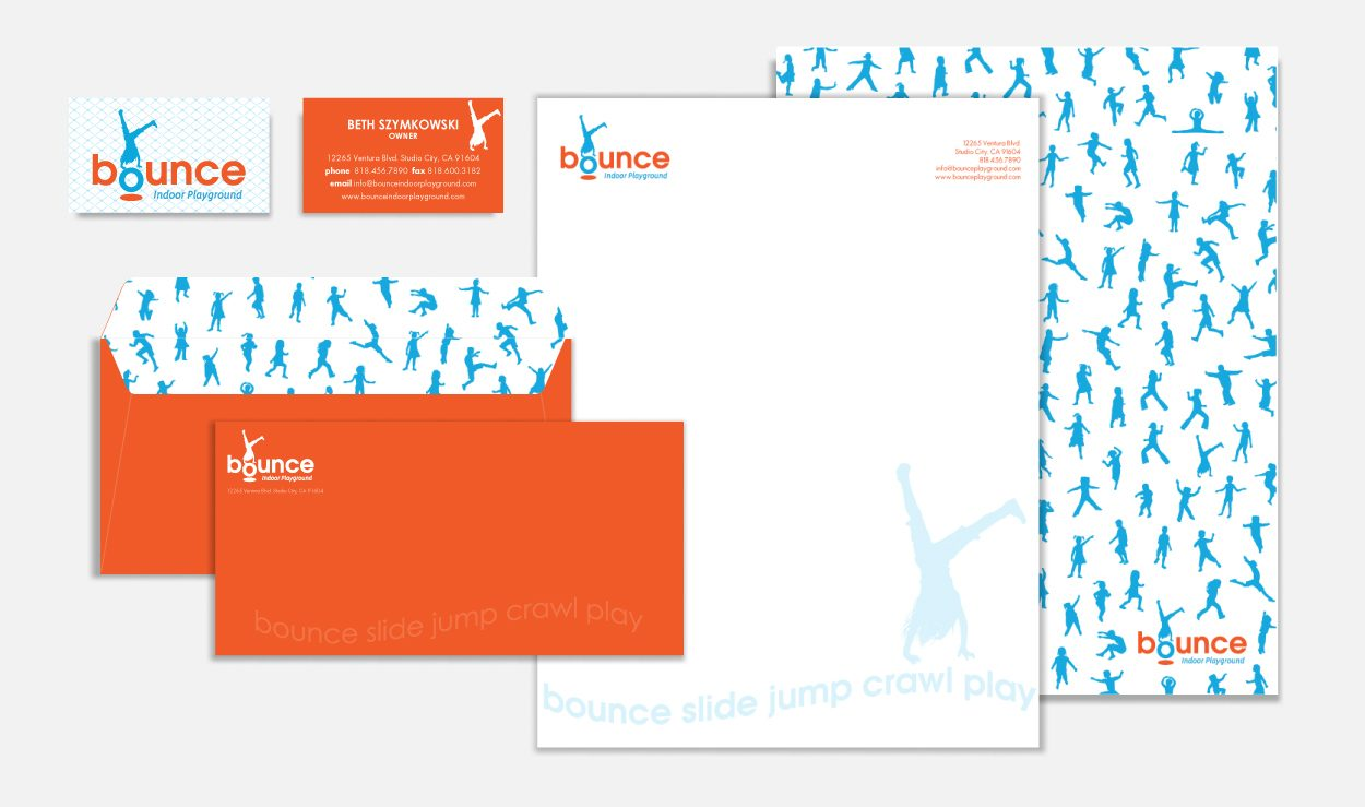 Corporate Identity Bounce by DreamBig Creative Minneapolis, MN