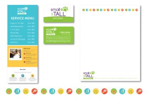 Small + Tall Corporate Identity by DreamBig Creative Minneapolis, MN