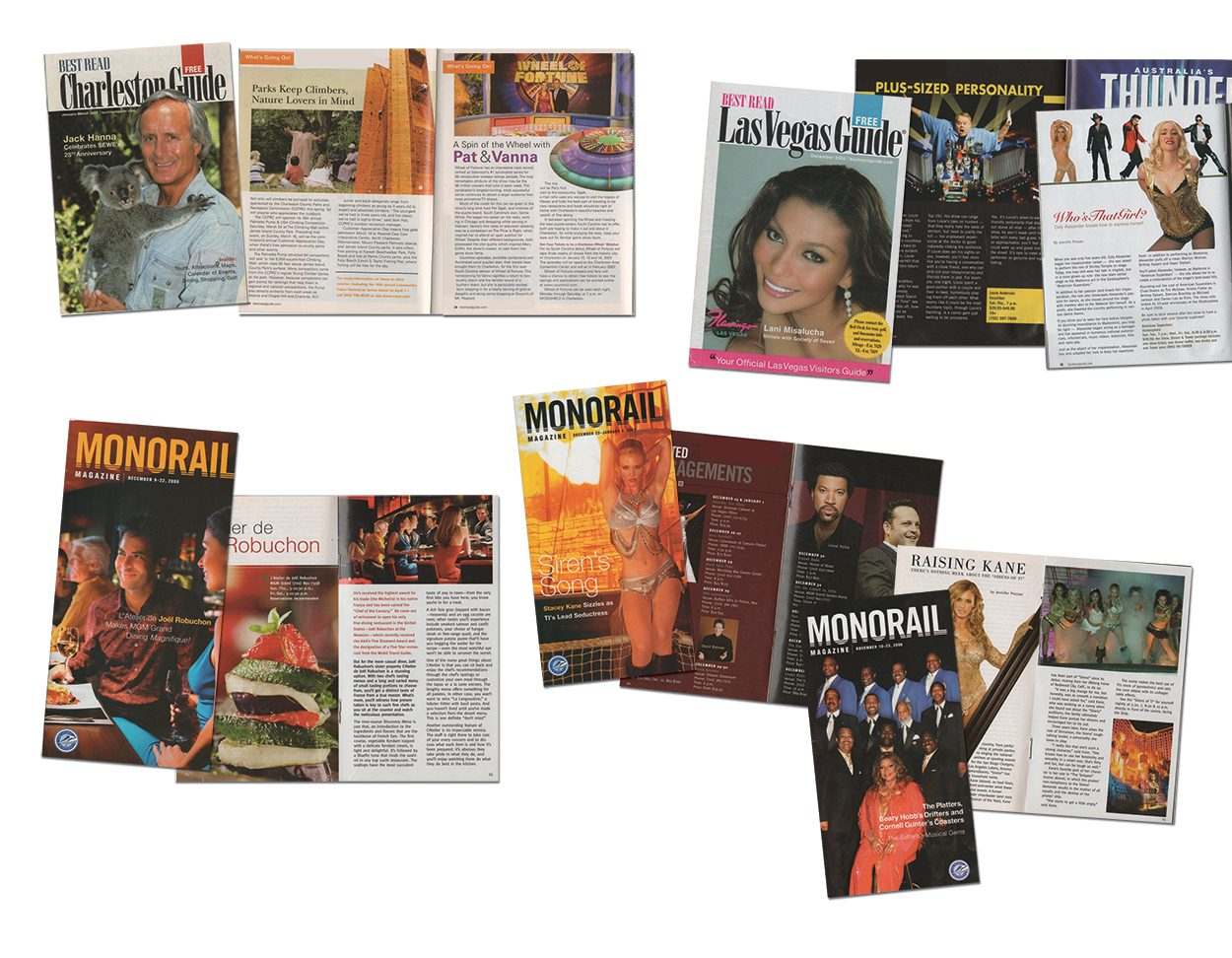 Guest Information Magazine Print Layout Design by DreamBig Creative Minneapolis, MN