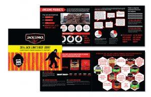 Jack Links annual report design